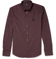 McQ Alexander McQueen Checked Cotton Shirt