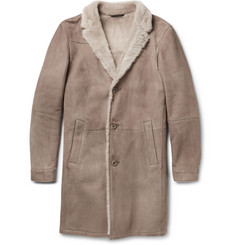 Loro Piana Mid-Length Shearling Coat