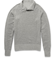 Loro Piana Funnel-Neck Cashmere Sweater