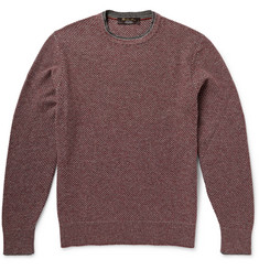Loro Piana City Pull Knitted Baby Cashmere Sweater