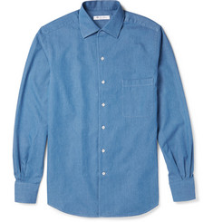 Loro Piana - Andre Cotton-Chambray Shirt
