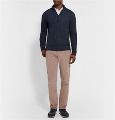 Loro Piana Cotton and Cashmere-Blend Corduroy Trousers