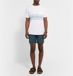 Mollusk Three Stripe Printed Cotton-Jersey T-Shirt