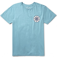 Mollusk The Source Printed Cotton-Jersey T-Shirt