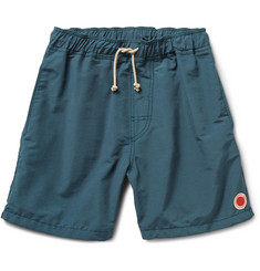 Mollusk Vacation Cotton-Blend Swim Shorts