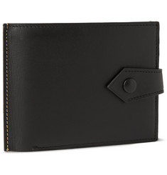 Maison Margiela Two-Tone Leather Double-Billfold Wallet