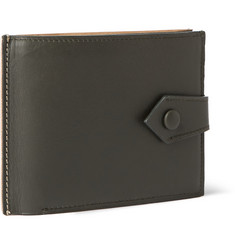 Maison Margiela Two-Tone Leather Billfold Wallet
