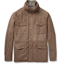 Loro Piana Traveller Suede Field Jacket