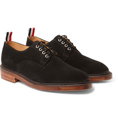 Thom Browne Suede Derby Shoes
