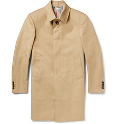Thom Browne Cotton-Gabardine Raincoat
