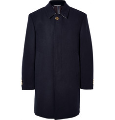 Thom Browne Melton Wool Overcoat