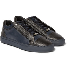 Brioni James Two-Tone Leather Sneakers