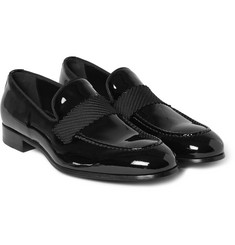Brioni Patent-Leather Loafers