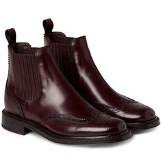 Brioni Beatle Leather Boots