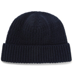 Lanvin Ribbed Cashmere Beanie
