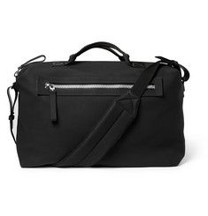 Lanvin Full-Grain Leather Holdall