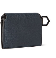 Lanvin Grained-Leather Cardholder