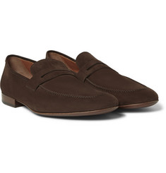 Loro Piana - Flex and Walk Nubuck Loafers