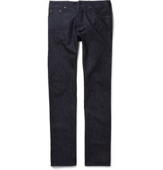 Etro Rinsed Cotton and Cashmere-Blend Jeans