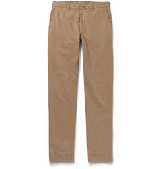 Etro Washed Cotton-Blend Chinos