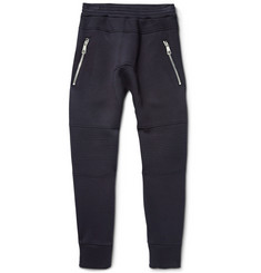 Neil Barrett Slim-Fit Panelled Bonded Jersey Sweatpants