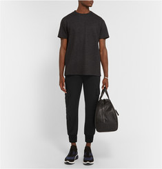 Neil Barrett Cropped Wool-Blend Jersey Sweatpants