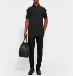Neil Barrett Two-Tone Cotton-Poplin Shirt