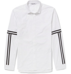 Neil Barrett Slim-Fit Striped Cotton Shirt