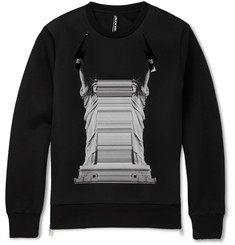 Neil Barrett Printed Tech-Jersey Sweatshirt