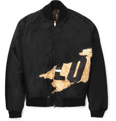 Givenchy Reversible Printed Shell Bomber Jacket
