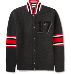 Givenchy Appliquéd Wool Cardigan