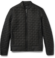 Calvin Klein Collection Quilted Shell Bomber Jacket