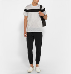 Calvin Klein Collection Two-Tone Jersey Sweatpants