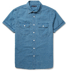 Alex Mill Roadhouse Printed Cotton-Chambray Shirt