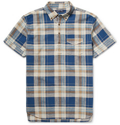 Alex Mill Reef Checked Cotton-Poplin Shirt