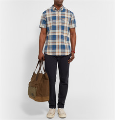 Alex Mill Reef Check Cotton-Poplin Shirt