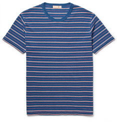 Alex Mill Striped Cotton Piqué T-Shirt