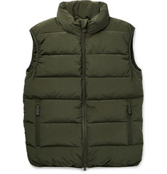 Aspesi Quilted Shell Down Gilet