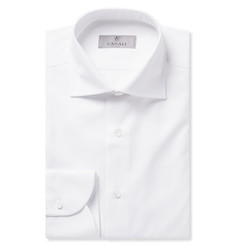 Canali Slim-Fit Cotton-Twill Shirt