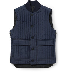 Canali Reversible Quilted Gilet