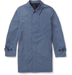 Canali Reversible Wool and Silk-Blend Raincoat