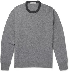 Canali Patterned Cashmere Sweater