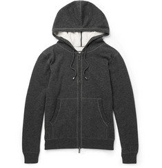 Canali Cashmere and Cotton-Blend Hoodie