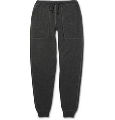 Canali Cashmere and Cotton-Blend Sweatpants
