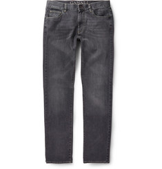 Canali Washed-Denim Jeans