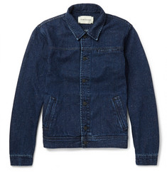 Oliver Spencer Slubbed-Denim Jacket