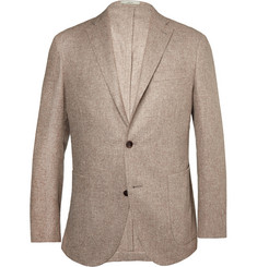 Boglioli Stone Dover Wool and Cashmere-Blend Blazer