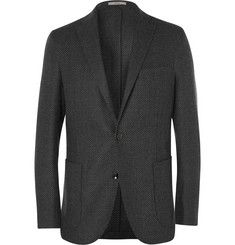 Boglioli Navy Dover Slim-Fit Wool Blazer