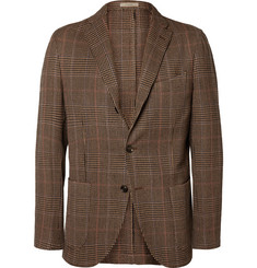 Boglioli K Houndstooth Wool-Tweed Blazer