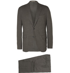 Boglioli Grey Eton Slim-Fit Virgin Wool Suit
